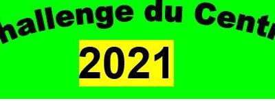 Solution de substitution lors d'une annulation de challenge du Centre en 2021