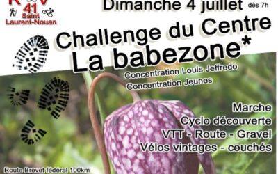 3 et 4 juin 2021 – Challenge du Centre de «la Babezone» à Saint-Lauren-Nouan (41).
