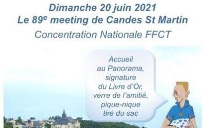 20 Juin 2021 – Mmeting de Candes-Saint-Martin (37)