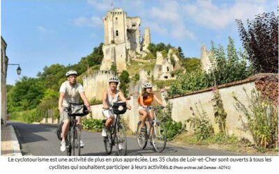 Les clubs de cyclotourisme en quête de cyclistes pour arpenter le Loir-et-Cher